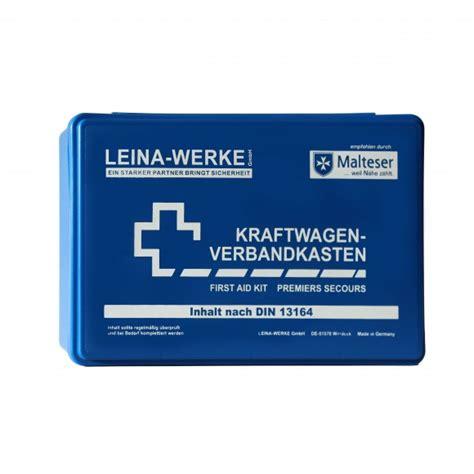 Kfz Verbandkasten Inhalt by Kfz Verbandkasten Inhalt Nach Din 13164 Kk Hygiene