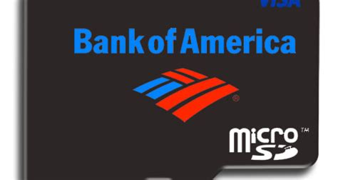Bank Of America Gift Card - bank of america to test microsd cards for mobile payments secureidnews