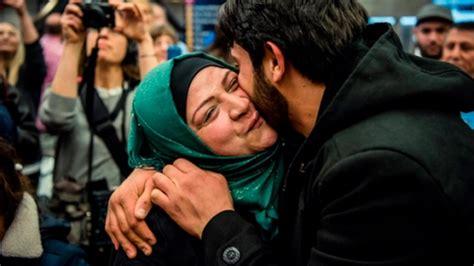 family crisis center garden city ks syrian family reunited as white house travel ban