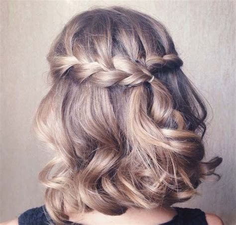 Plait At Back Of Head Hairstyle | 50 trendy ways to braid short hair the head the end and
