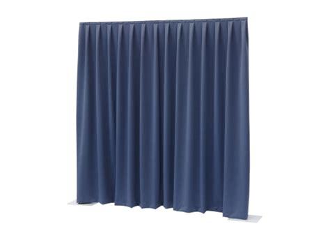 molton vorhang wentex pipes drapes vorhang molton 3x3m 300g m 178 blau