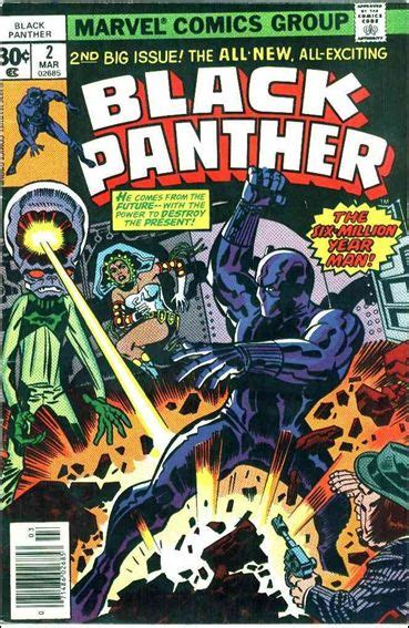 black panther golden book marvel black panther books black panther 2 a mar 1977 comic book by marvel
