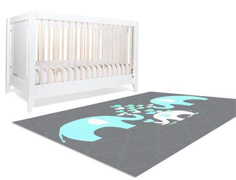 Grey Elephant Nursery Rug by Kindergarten Teppiche Elefanten Aufzuchtstation And