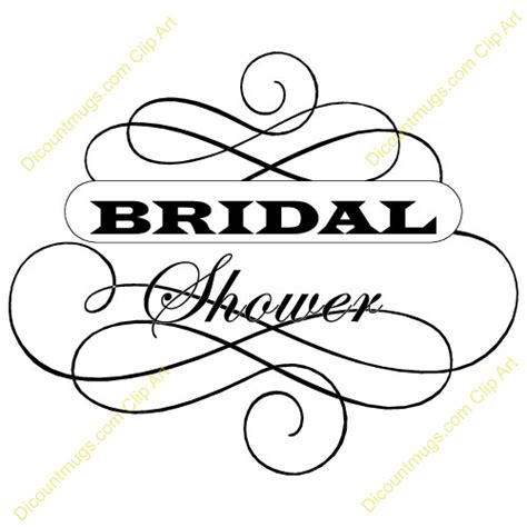 bridal shower images bridal shower clipart jpg 500 215 500 chanel