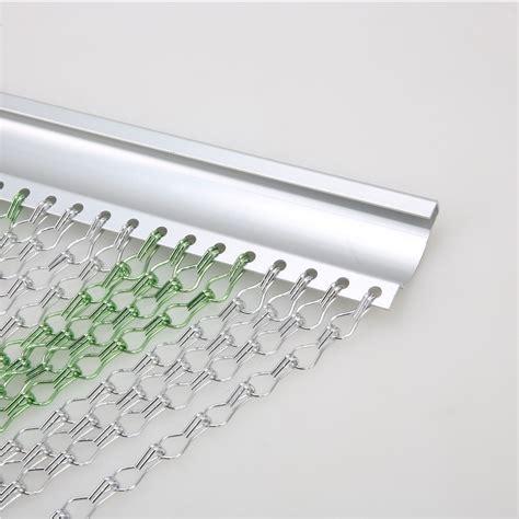Rideau Chainette by Rideau Cha 238 Nettes Porte Aluminium Vert Argent Cha 238 Ne