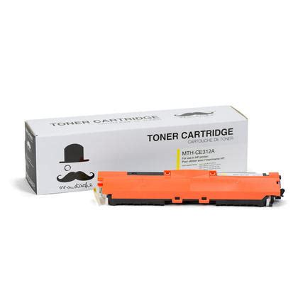 Toner Hp 126a Yellow compatible hp 126a ce312a yellow toner cartridge