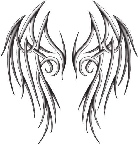 tribal tattoos angel wings best 25 wing tattoos ideas on wing