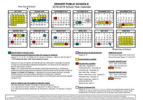 Denver Schools Calendar News Required For All News And Headlines Items Denver
