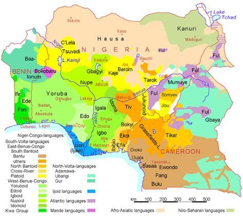 where is nigeria on a world map nigeria maps