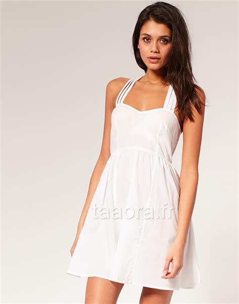 Asos Robe Blanche Courte - robe blanche tendance printemps 201 t 233 2011 taaora