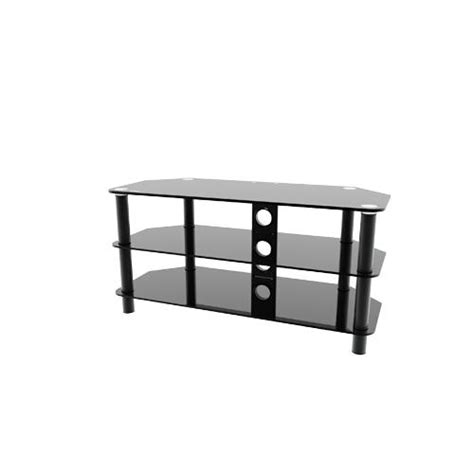 etec e1630c flat panel tv stand with 3 tempered glass