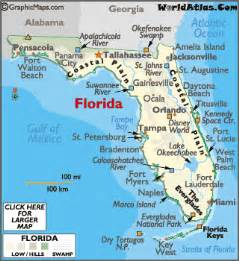 florida map geography of florida map of florida