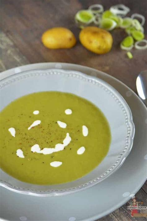 potage de poireaux et pommes de terre recette de soupe