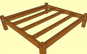 Wood Bed Frame How To Build Build A Wooden Bed Frame Wikihow Diy