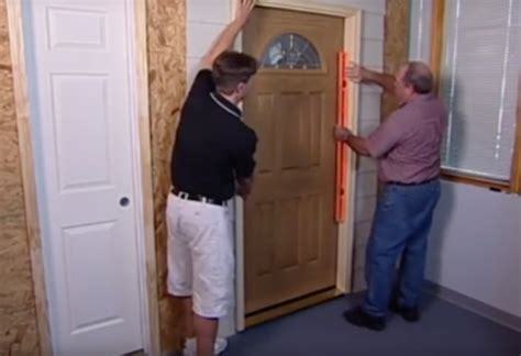 Priorityzone Blog Exterior Door Frame Installation