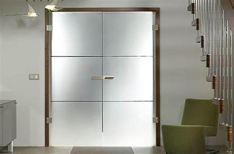 Full Glass Doors Quot Finea Quot Modern Staircase Miami Modern Glass Door