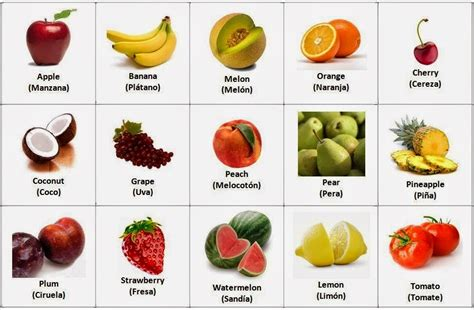 imagenes de zanahoria en ingles educatblog fruit and vegetables