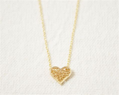 Korean Handmade Jewelry - popular gold filigree necklace buy cheap gold
