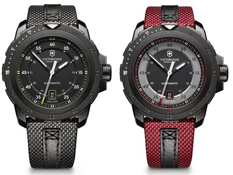 Victorinox Hijau Army New victorinox swiss army s new timepieces for the alpnach collection watches luxpresso