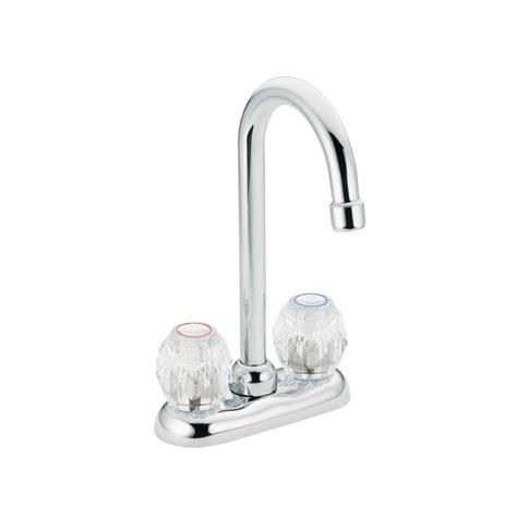 Moen Chateau Kitchen Faucet by Shop Moen Chateau Chrome 2 Handle Kitchen Faucet At Lowes