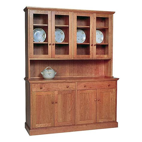dining room hutches styles new england shaker buffet hutch vermont woods studios