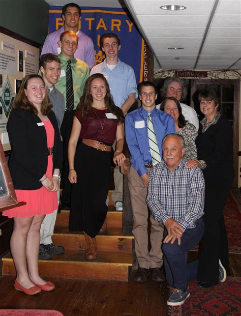 plymouth scholarships 2014 plymouth rotary scholarship winners plymouth rotary