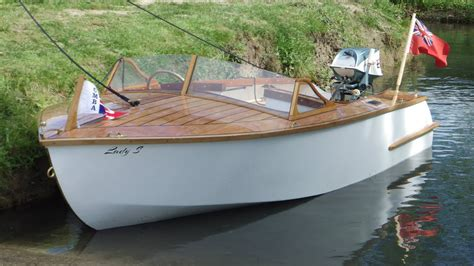Wooden Boat Plans Runabout