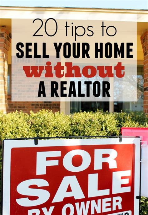 how to sell your house on your own how to sell your home without a realtor child at heart blog