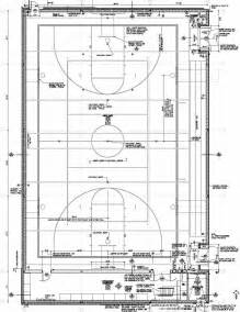 High School Gymnasium Floor Plans Facility Construction Km Auxiliary Floor Plan