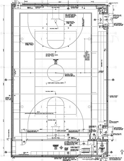 basketball gym floor plans image gallery high school gym dimensions