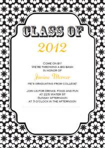 graduation invitations template best template collection