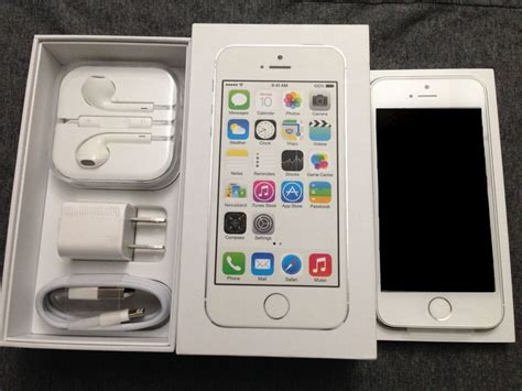 Iphone 5s 64gb Silver new silver white iphone 5s 64gb factory unlocked tmobile
