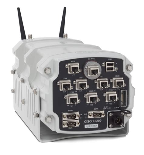 Rugged Router by Cisco 3270 Rugged Integrated Services Router Product Views