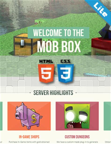 buycraft themes maker minecraft website templates art shops shops and
