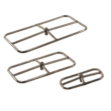 pit burners shop hearth products controls rectangle stainless steel
