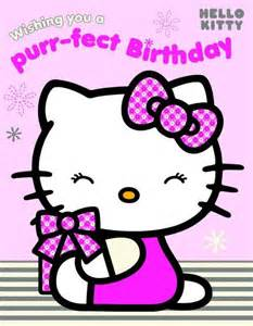 free printable kitty happy birthday cards