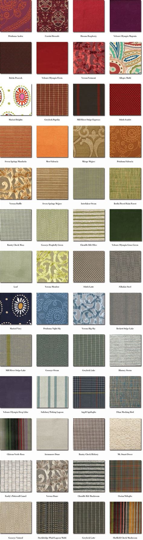 Fabric Pattern List | list of fabric patterns fabrics pinterest