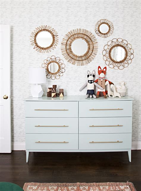 tyssedal dresser hack sarah sherman samuel nursery progress ikea hack diy
