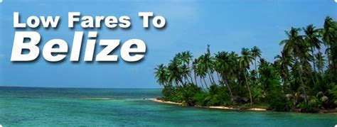 belize flights on sale with american airlines island expeditions
