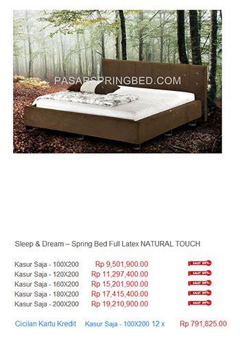 Kasur Palembang Semarang harga sleep bed harga bed termurah