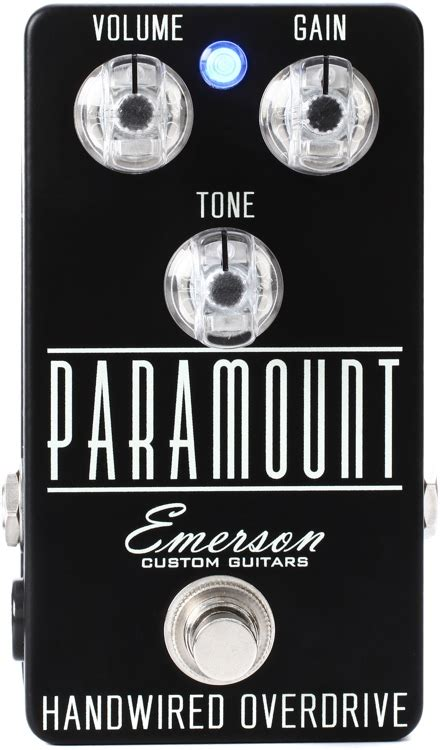 2 Patch Not Emerson emerson custom paramount overdrive demo sweetwater