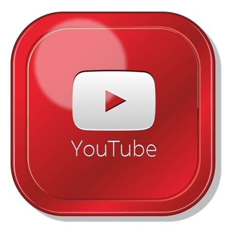youtube app square logo transparent png svg vector