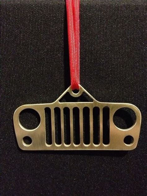 jeep christmas tree ornament christmas merry christmas