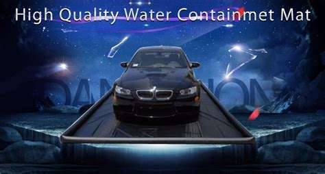 Best King Indoor Garage Floor Car Water Containment Wash