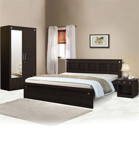 pyramid bedroom combo set queen size bed without storage
