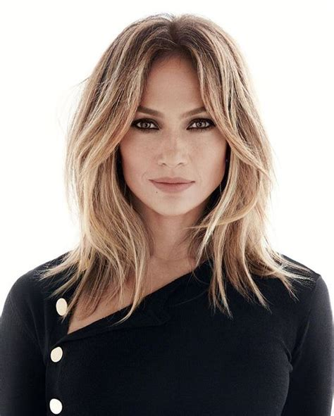 hairstyles with center part and layers cute and easy hairstyles for medium length hair
