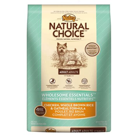 puppy food nutro choice food chicken whole brown rice oatmeal formula