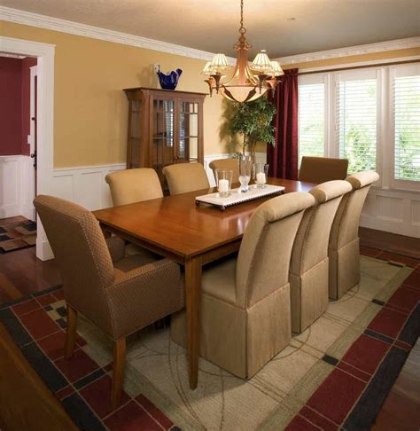formal craftsman style dining room  house