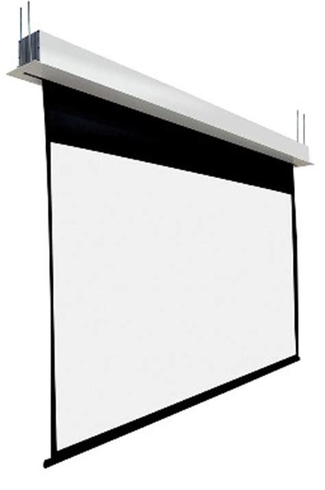 recessed ceiling projector screen screen international projector screens