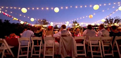 Outdoor Wedding Lighting Rental Rentals